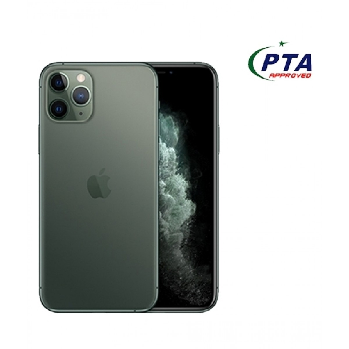 Apple Iphone 11 Pro Max 256gb Dual Sim Midnight Green Official Warranty Mobilez Experts